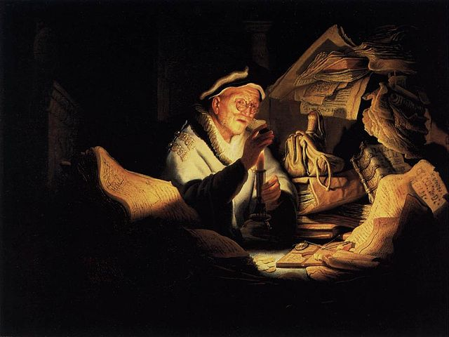 Rembrandt - Parable of the Rich Man